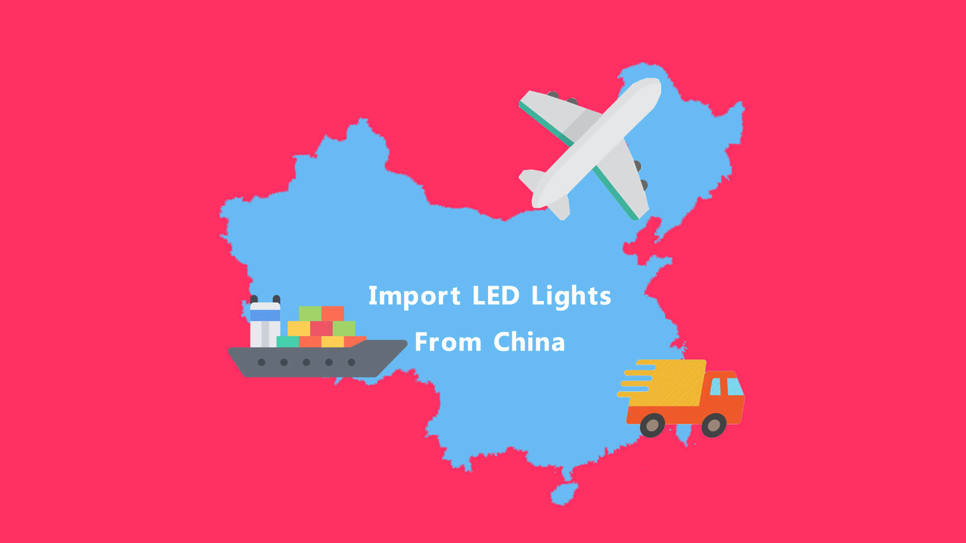 Import LED Lights From China